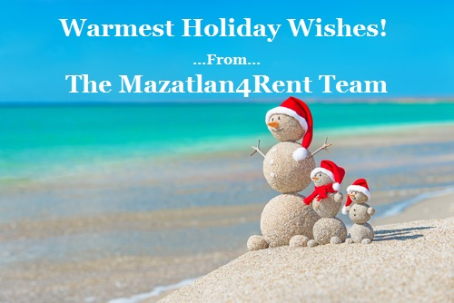 Mazatlan4Rent 2014 Christmas Card